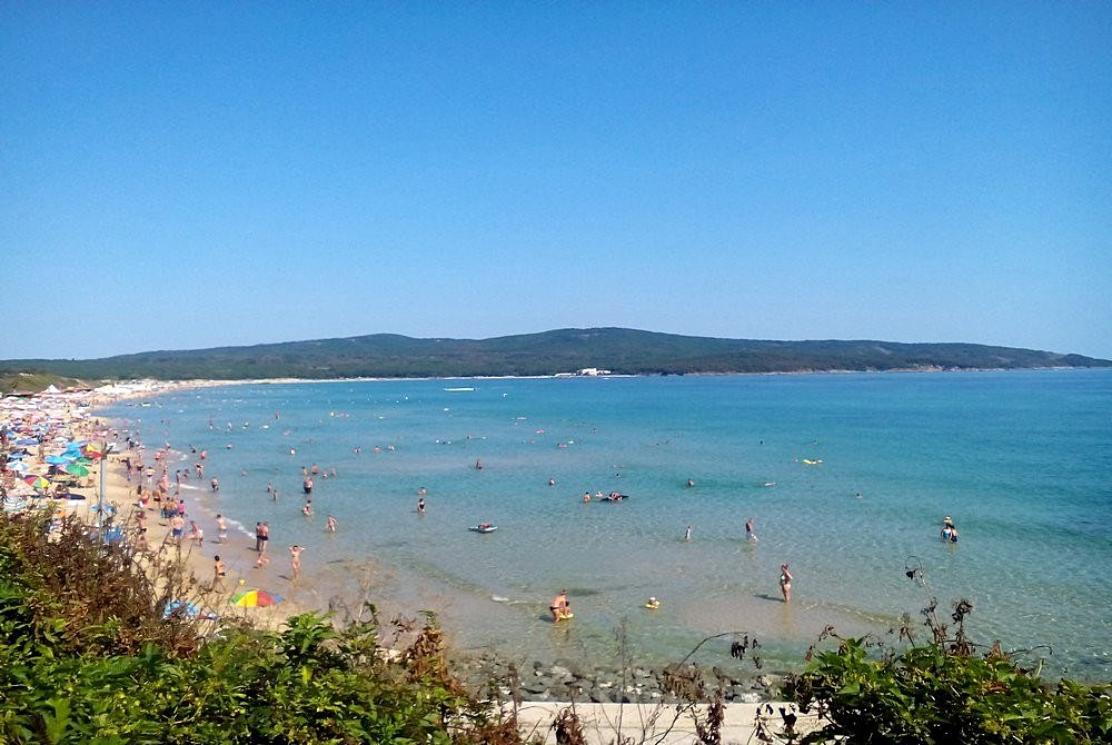 The beach of Primorsko